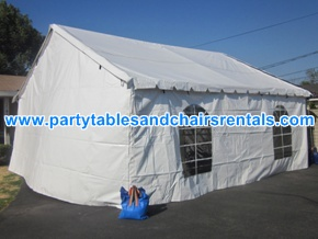 20x20 Party Tents for Rent Los Angeles CA