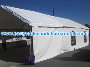 20x30 Cheap Tents for Weddings with Walls and Clear Windows